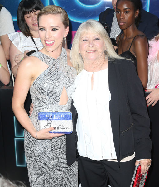 ScarJo Brings Look-Alike Grandma to Premiere, Plus: What She's Saying About Ivanka