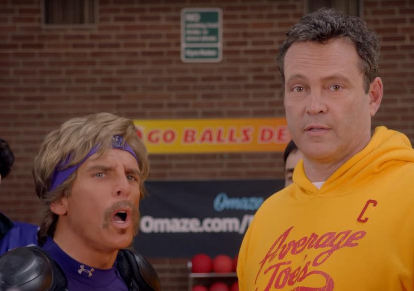 Watch Ben Stiller & Vince Vaughn's Epic 'Dodgeball' Reunion!