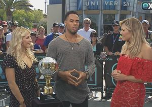 Where Rashad Jennings Is Displaying His 'Dancing with the Stars' Mirrorball…