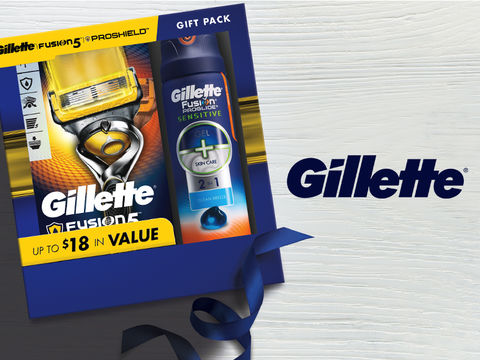 Win It! A Gillette Father's Day Pack and $25 Walgreens Gift Card