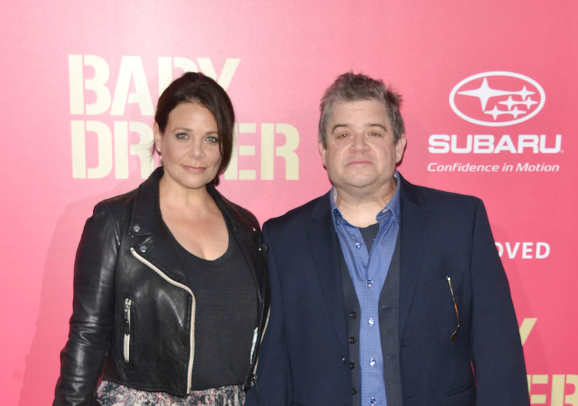 See Patton Oswalt and Meredith Salenger's Sweet Engagement Photos