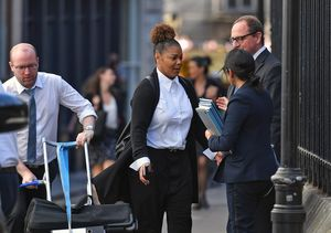Janet Jackson Makes Rare Public Appearance as She Heads to Court in London