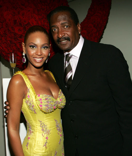'Granddad' Mathew Knowles Confirms Beyoncé & Jay Z's Twins Are 'Here'