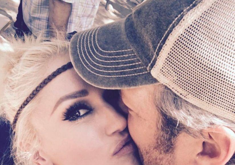 Gwen Stefani Kisses Blake Shelton on His Birthday — See the Pic!