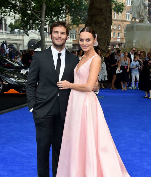 Sam Claflin & Laura Haddock Expecting Baby #2 — See Her Baby Bump!