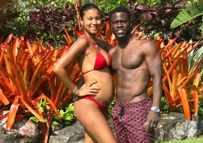 Kevin Hart's Wife Eniko Makes Pregnancy Look Fierce and Easy in New Baby Bump…