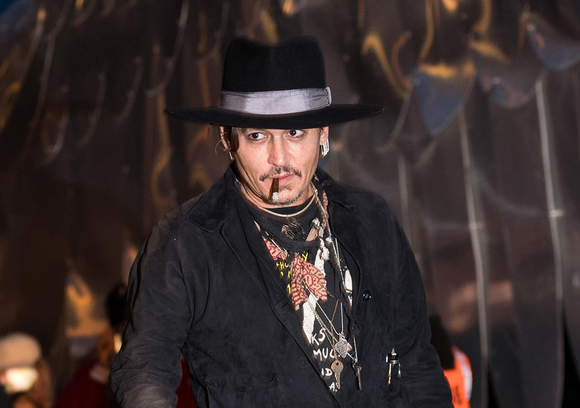 Caught on Camera! Johnny Depp's Controversial Joke About Assassinating President Trump