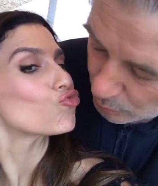 Pucker Up! Hilaria Baldwin Instagrams Makeout Sesh with Alec