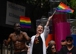 Going Public! Why Kelly Osbourne Peed Herself at NYC LGBT Pride March