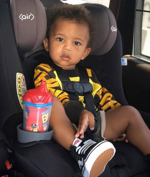 What Kim K Wants All the Mommy Shamers to Know About that Pic of Son Saint