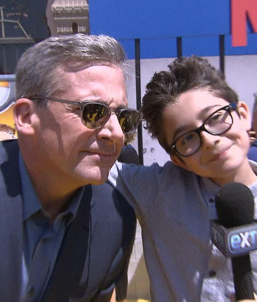 Too Cute! 'Extra' at Despicable Me 3' Premiere