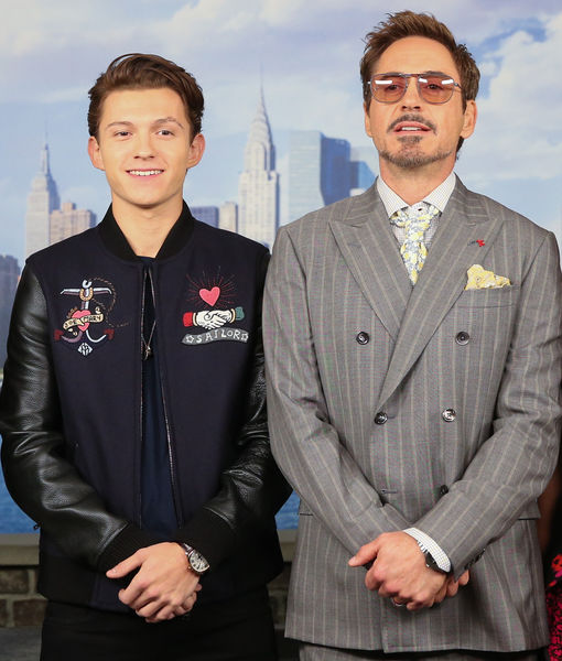 That One Time Tom Holland Was Faked Out by Robert Downey Jr.'s Stunt Double