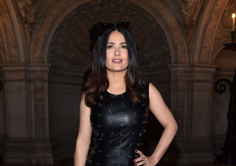Salma Hayek on George Clooney's Twins and the Time Trump Tried to Ask Her Out