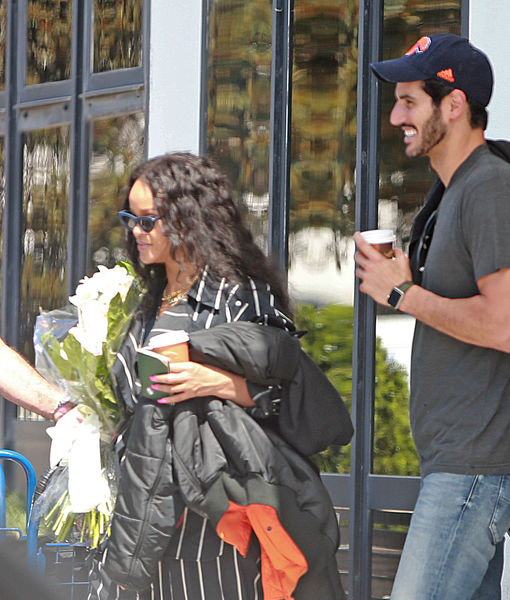 More Photographic Proof of Rihanna & Hassan Jameel's Romance