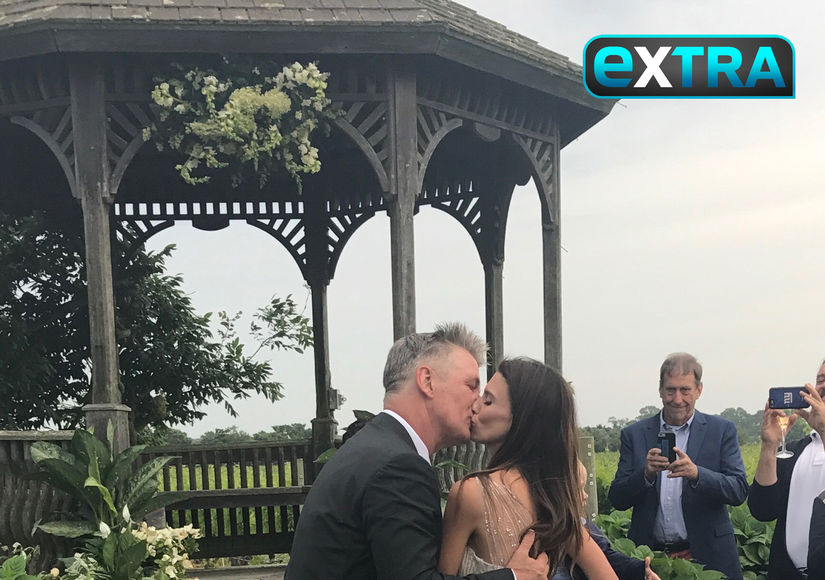 Alec & Hilaria Baldwin Renew Their Vows
