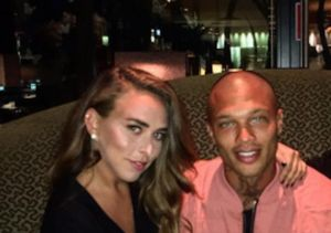 Married 'Hot Mug Shot Guy' Jeremy Meeks Seen Kissing Heiress