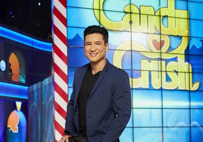 Mario Lopez Gives 'Extra' a Behind-the-Scenes Look at 'Candy Crush'