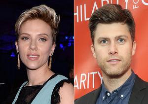 Back On? Scarlett Johansson's Romantic Dinner with Colin Jost