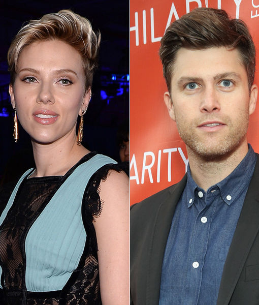 Back On? Scarlett Johansson's Romantic Dinner with Colin Jost