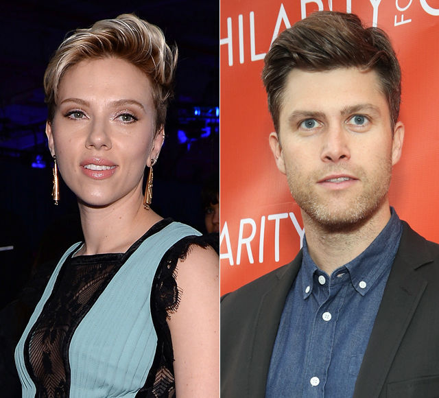 Scarlett Johansson and SNL's Colin Jost Spotted Hanging Out Yet Again!