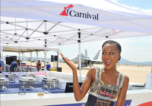 Carnival & 'Extra' Help to Socially Salute Our Troops