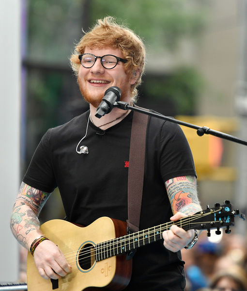 Ed Sheeran Suffers Painful Injury After Being Hit by Car