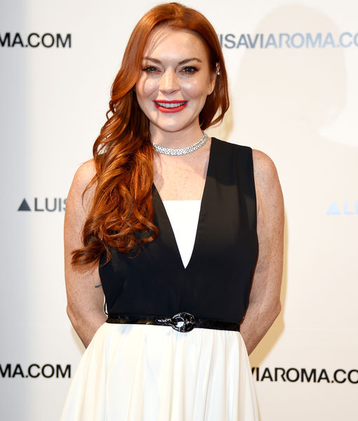 Extra Scoop: Lindsay Lohan Defends President Trump