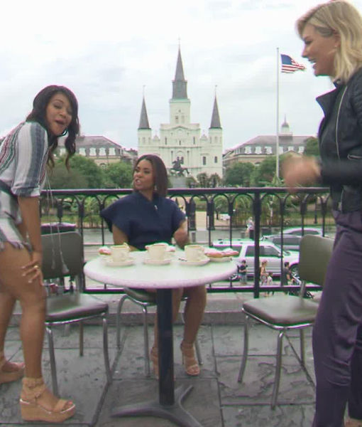 See the 'Girls Trip' Cast Give Charissa Twerking Lessons