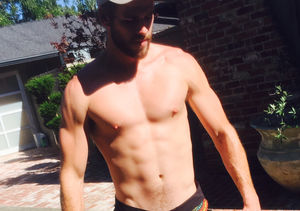 Liam Hemsworth Leaves Little to the Imagination in Very 'Tiny Shorts'