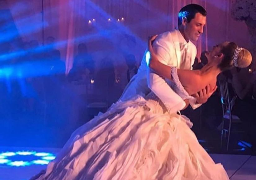 Getting Married with the Stars: Maks & Peta Are Man and Wife!