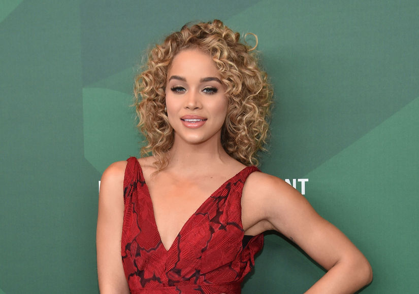 Jasmine Sanders' Useful Trick for Healthy Curls