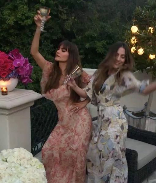 Celebrating 45, Sofía Style! Pics & Video from Her Birthday Bash