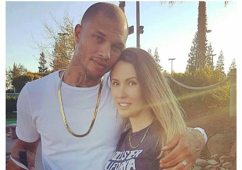 Jeremy Meeks Files for Separation After Being Spotted Kissing Topshop Heiress