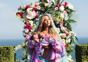 First Photo of Beyoncé's Adorable Twins
