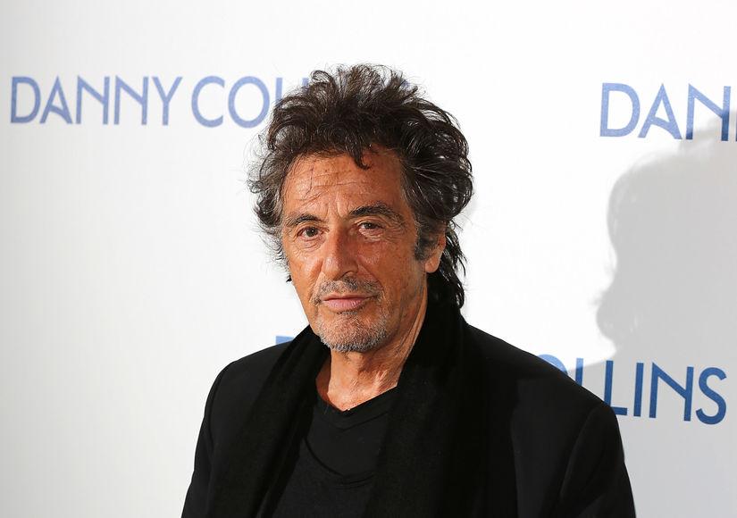Al Pacino as Coach Joe Paterno: First Peek