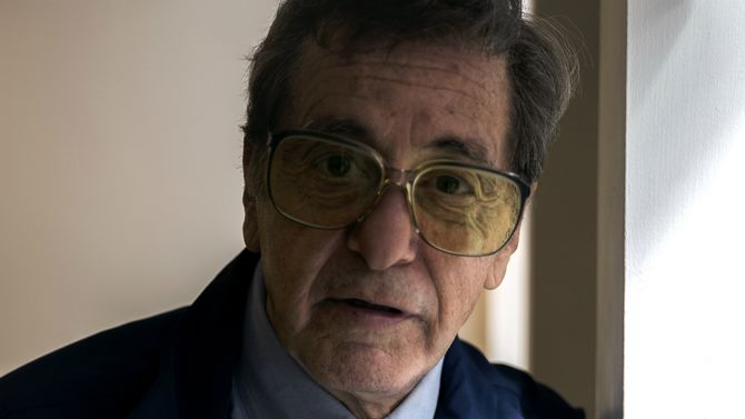 Al Pacino Seen as Joe Paterno on 'Happy Valley' Set