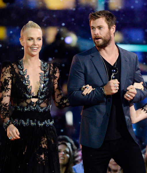 Charlize Theron Reacts to Chris Hemsworth's James Bond Comments