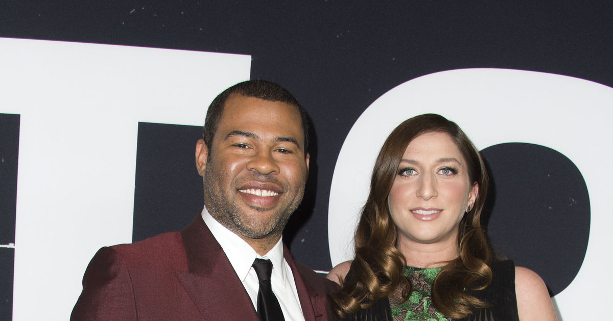 Jordan Peele Chelsea Peretti Welcome Baby Boy What S His Unique Name Extratv Com