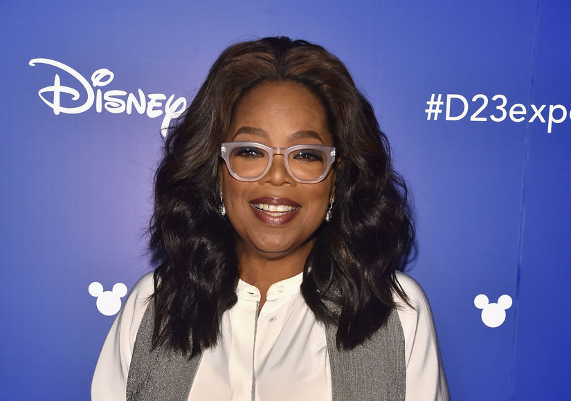 D23: Oprah Talks Her Dramatic 'Wrinkle in Time' Movie Look and More