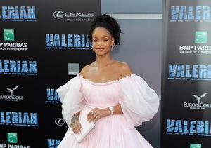 Rihanna Debuts Wild Blue Hair — See Pics!
