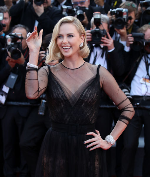 Charlize Theron Dishes on Secret Date with 'Cool' Guy — Is It Gabriel…