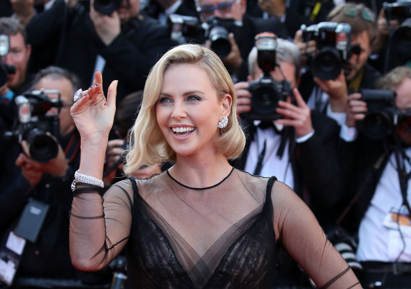 Charlize Theron Dishes About Secret Date with 'Cool' Guy — Is It Gabriel…
