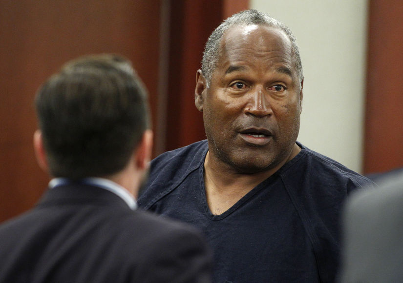 Online Sportsbook Running Odds on the Outcome of OJ Simpson Parole Hearing