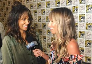 Comic-Con Challenge! Halle Berry Says She Can 'Outdrink' Her 'Kingsman'…