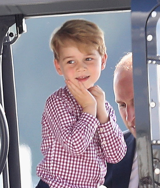 Prince George's Birthday Portrait Is Too Adorable!