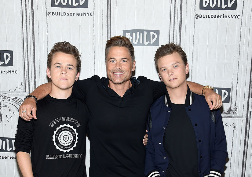 What Rob Lowe Did to Spend More Time with His Kids