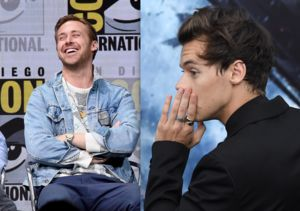 Ryan Gosling Reacts to Making Harry Styles' Heart Beat Faster!