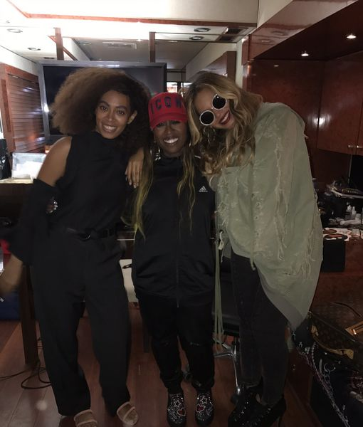 Moms' Night Out! Janet Jackson, Beyoncé and Others Party at FYF Fest
