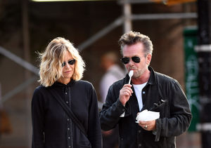 Exes Meg Ryan & John Mellencamp Spotted in NYC