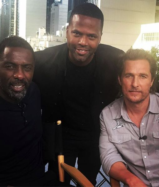 LOL! Matthew McConaughey Busts Up When He Hears About Idris Elba's Rear of the…